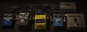 複数のエフェクターの画像
