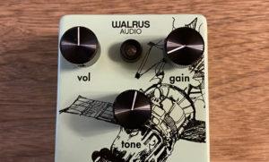 warlus audio voyagerのツマミ