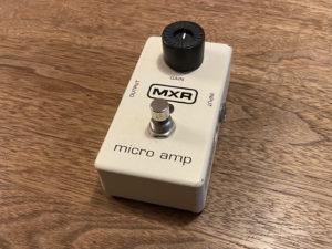 MXR Micro Ampの本体画像