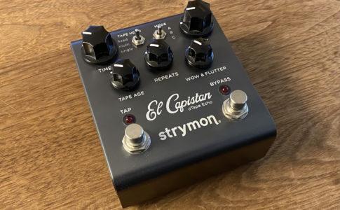 Strymon el capistanの本体画像
