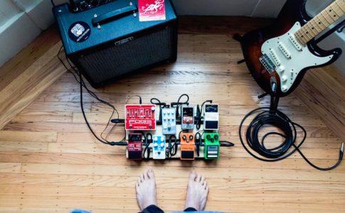 ギターアンプとエフェクター