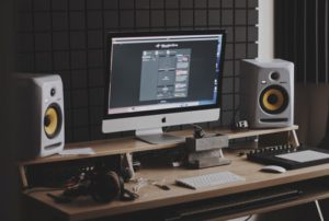 Macとモニタースピーカー