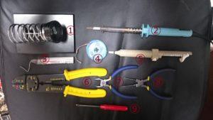 自作エフェクター用の工具