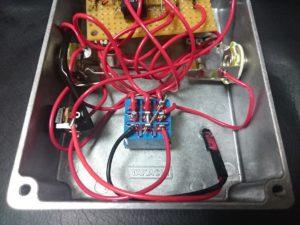 自作エフェクターの内部