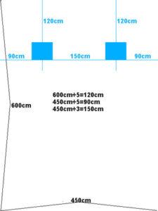 モニタースピーカーの正しい設置距離の画像