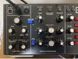 Model Dのオシレーター