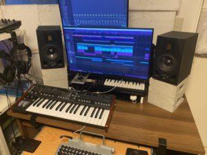 ADAM A5Xとホームスタジオ
