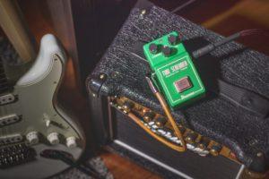 チューブスクリーマーとギターアンプ